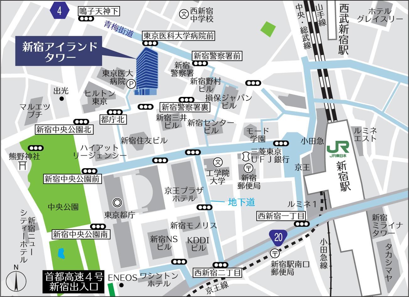 事務所マップ 高速図
